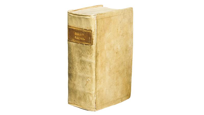 13世紀ラテン語写本聖書