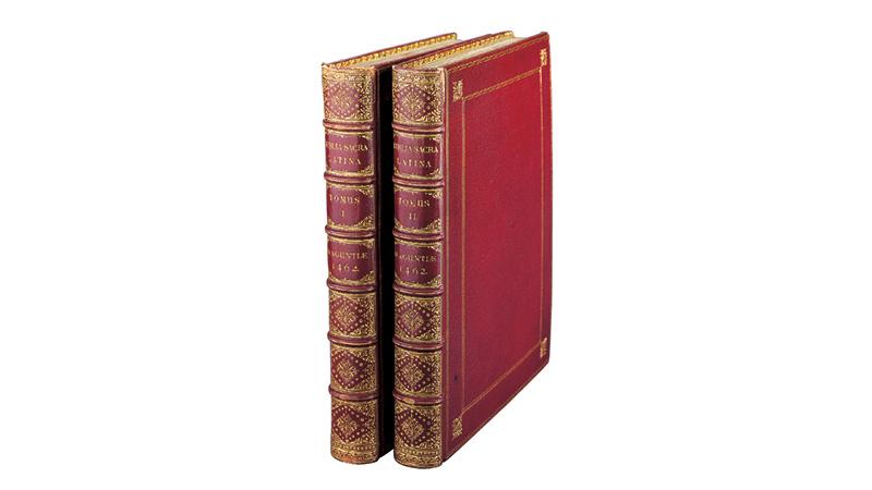 48行ラテン語聖書 全2巻