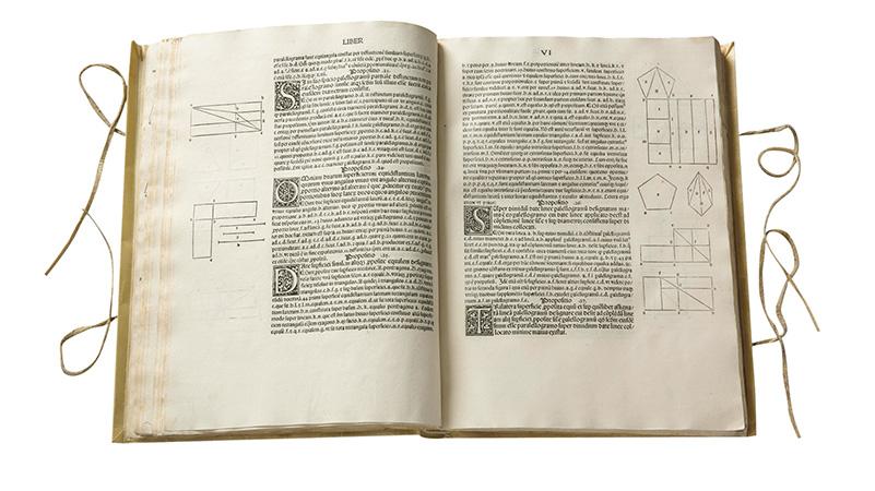 幾何学原論 ラテン語訳