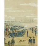 ハイネ[ペリー来航図]1853-1854