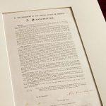 「奴隷解放宣言書」1863